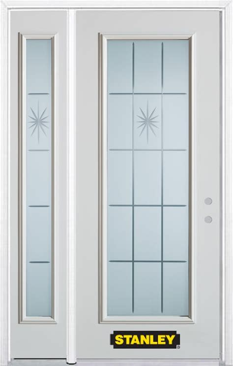 48 Inch Doors by Stanley Doors 48 Inch X 82 Inch Beaujolais Lite White