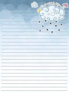 cloud writing paper free letter paper by tho be on deviantart