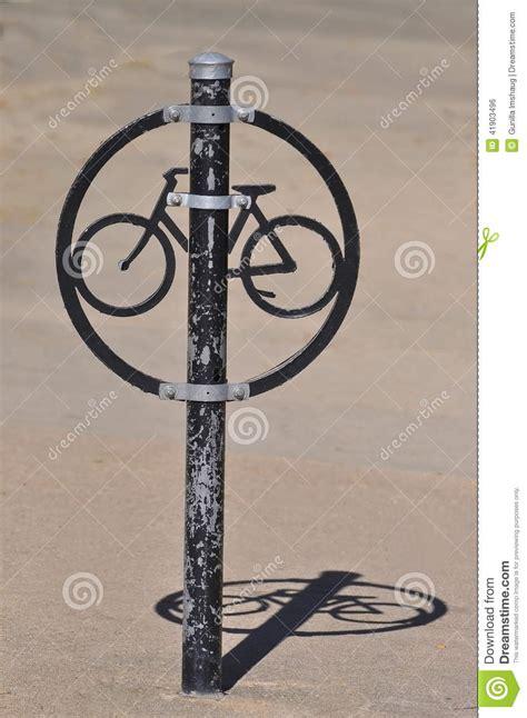 Unique Bike Rack by Unique Bike Rack Stock Photo Image 41903496