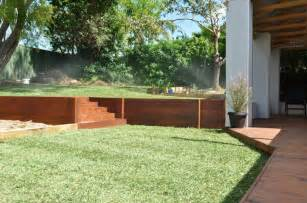 backyard retaining walls ideas 1000 images about wood retaining walls on