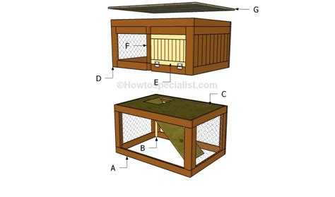 conejera diy how to build a rabbit hutch step by step asher