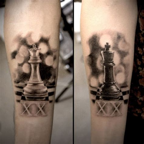 tattoo couple king and queen 45 cute king and queen tattoo for couples buzz 2016