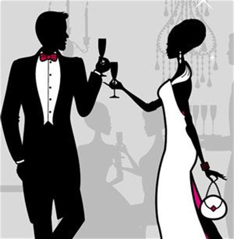 themes for black tie balls women formal attire clipart clipart suggest