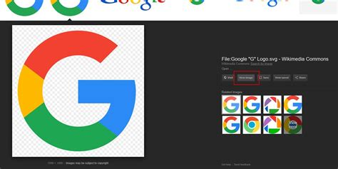google images viewer updated restore the quot view image quot button in google images