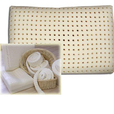 foam rubber bed pillows organic bedroom solid foam rubber latex pillow