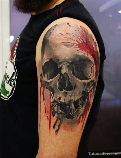 colored skull tattoo designs skull tattoos designs pictures page 10