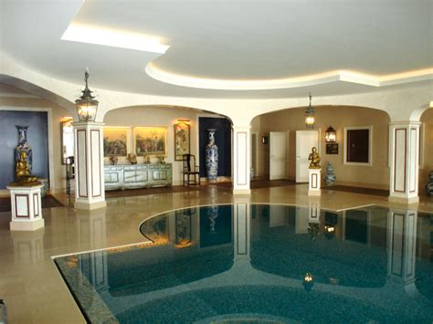 inside home design lausanne family house guest house staff houses indoor swimming