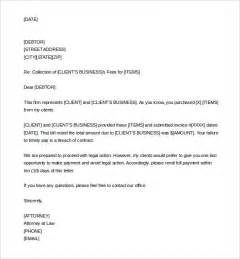 demand letter template 9 demand letter templates free sle exle format
