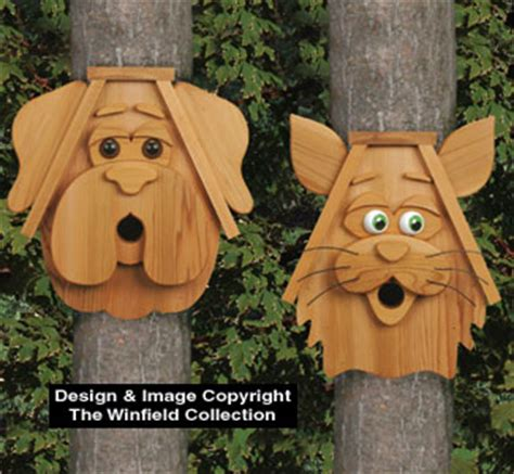 woodworking patterns yard all yard garden projects cedar cat and birdhouses
