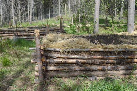hugelkultur bed extend your season with an old fashioned hot bed joybilee farm diy herbs