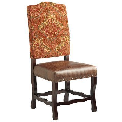 Damask Dining Chair - meritage deluxe dining chair damask accent pieces