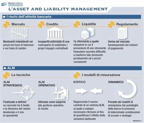 asset liability management banche l asset and liability management nelle banche borsa italiana