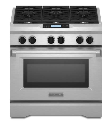 Kitchenaid Electric Appliances Commercial Style Dual Fuel Range Kdru767vss Stainless