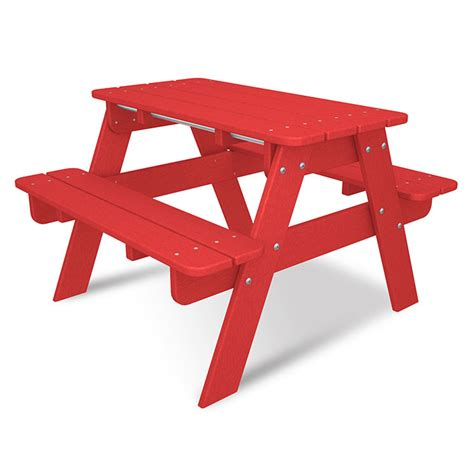 all weather picnic table polywood childrens picnic table all weather solid