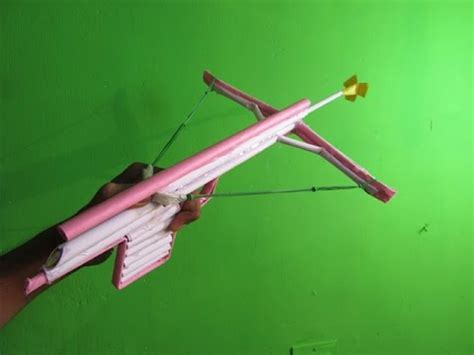 How To Make A Paper Cross Bow - how to make a paper crossbow hooka easy tutorials