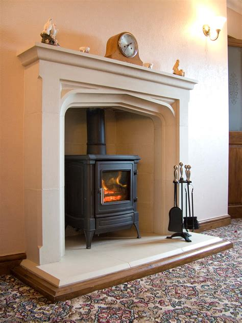 tall manor fireplace including hearth haddonstone usa