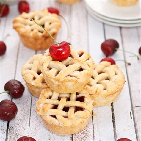 mini cherry pies recipe dishmaps