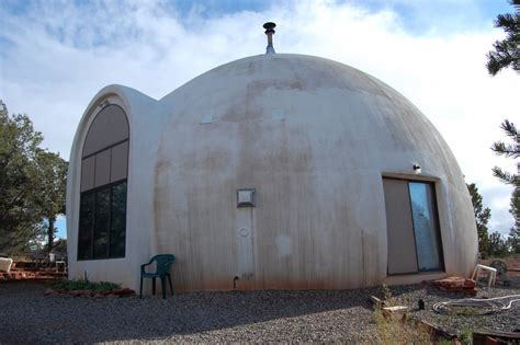 passive dome house in sedona az olino