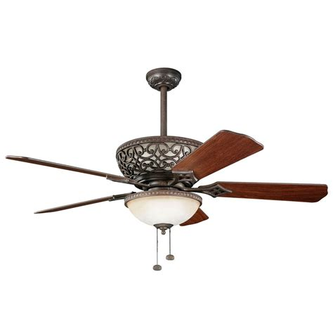 ceiling fan with uplight kichler 52 inch ceiling fan with integrated uplight