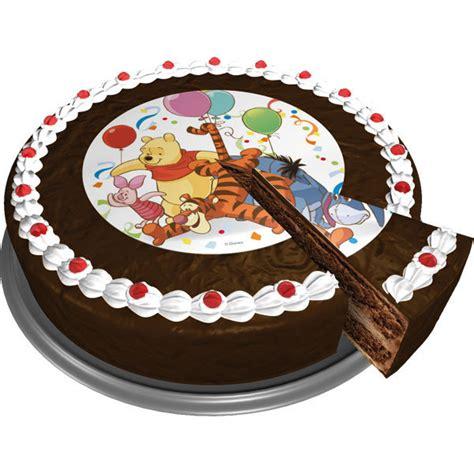 Topper Cake Motif Disney winnie pooh edible sugar cake topper 16cm morgenthaler s