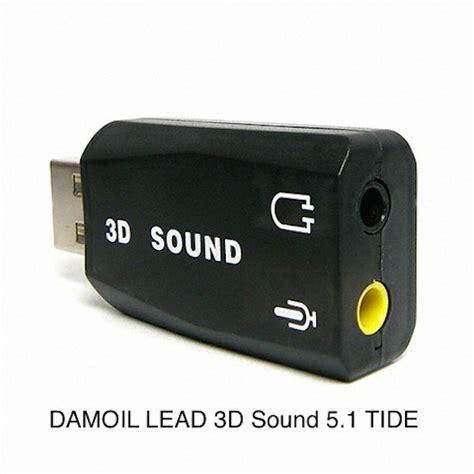 Usb External 3d Audio Sound 5 1 Lead Tide Card Adapter For Desktop lead 3d sound 5 1 tide usb driver