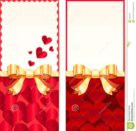 day cards templates valentines day greeting cards templates stock images