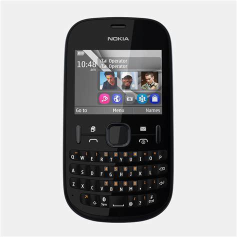Hp Nokia Asha 200 Second nokia asha 200 3d model