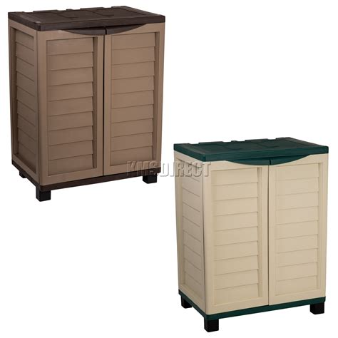 utility cabinet on wheels starplast outdoor plastic garden utility cabinet with 2