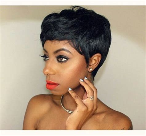 short haircuts with minimum care pixie haircut sew in hair work 2 pinterest sew