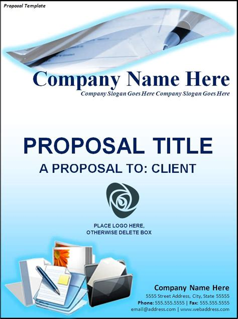 proposal letters  word templates