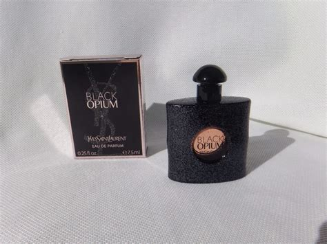 Ysl Black Opium 7 5ml ysl black opium yves laurent edp miniatur 7 5 ml eau