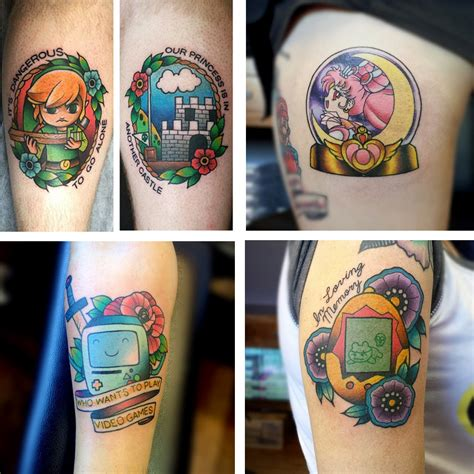 nintendo tattoo 5 artists that will your mind phan
