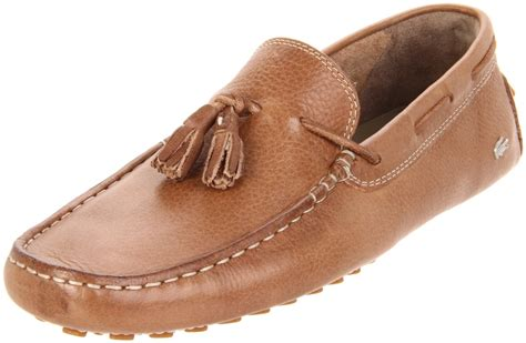 light brown loafers lacoste concours tassel 2 loafer in brown for light
