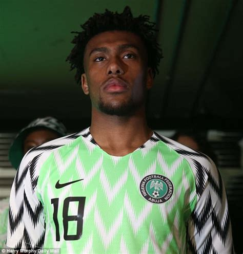 nigeria release  world cup shirts daily mail