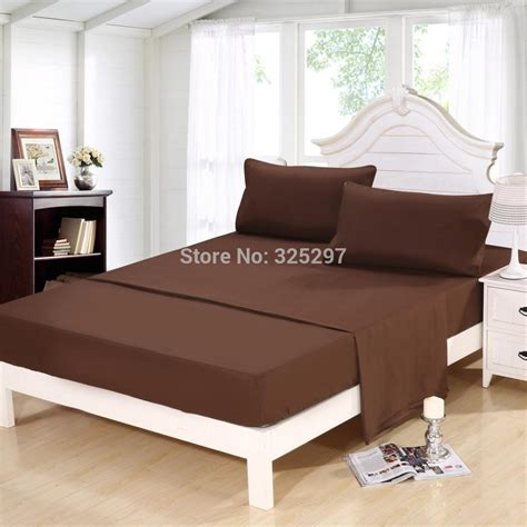 homehug 100 soft polyester 4pc bed sheet set king size