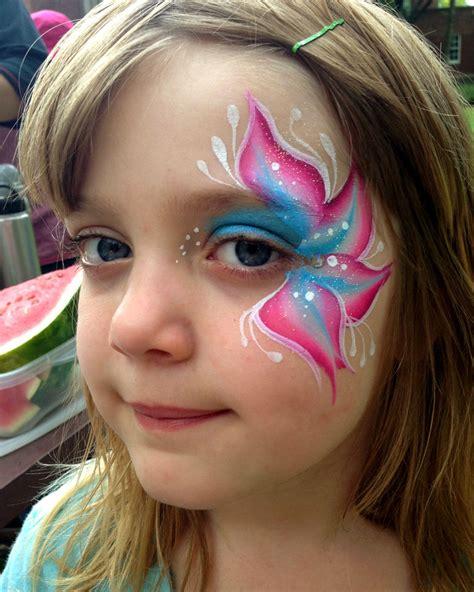 flower makeup painting chicago painting valery lanotte flower eye
