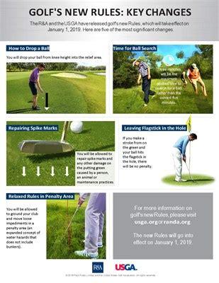 rules  golf major