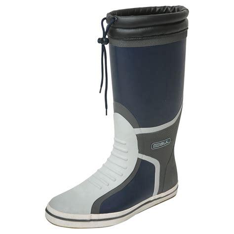 sailing boots gul deck length sailing boots 2017 navy charcoal ebay