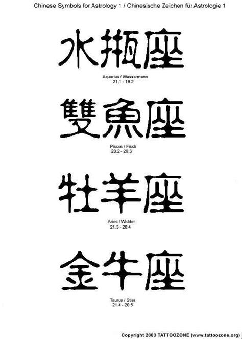 chinese letter tattoo designs images designs