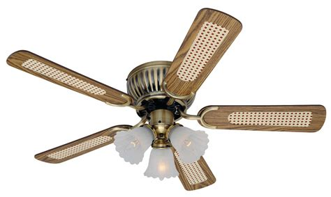 fans for low ceilings ceiling fan kisa brass antique 105 cm 41 quot for low