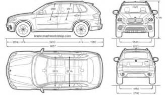 bmw blueprints bmw x5 2010 free textures and blueprints