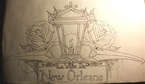 king of new orleans tattoo design by wingsdurus on deviantart