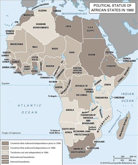 africa map 1960 africa africa political status in 1960 encyclopedia