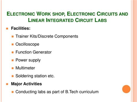 linear integrated circuits ppt ppt department of electronics communication engineering powerpoint presentation id 661114