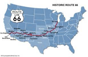route 66 highway united states britannica
