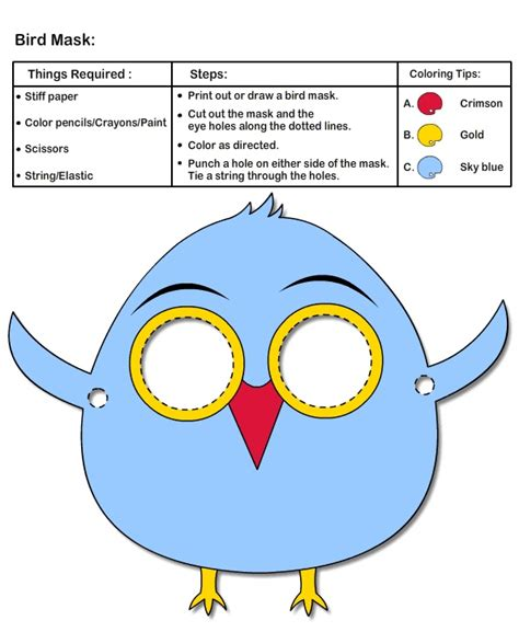 goose mask template 17 best images about projects to try on crafts