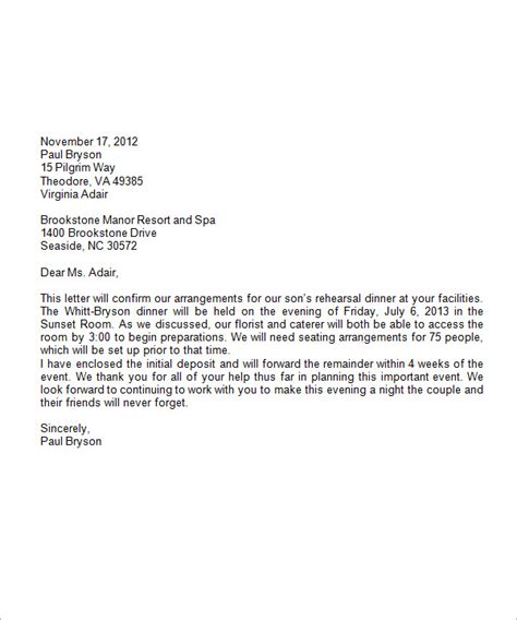 Business Letter Template With Letterhead Formal Business Letter Format 19 Free