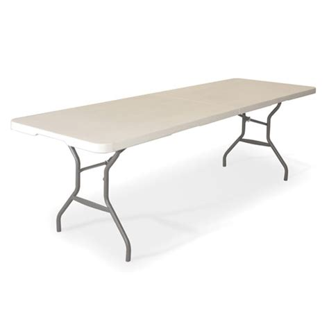 fold in half folding table lifetime 8 fold in half table walmart com