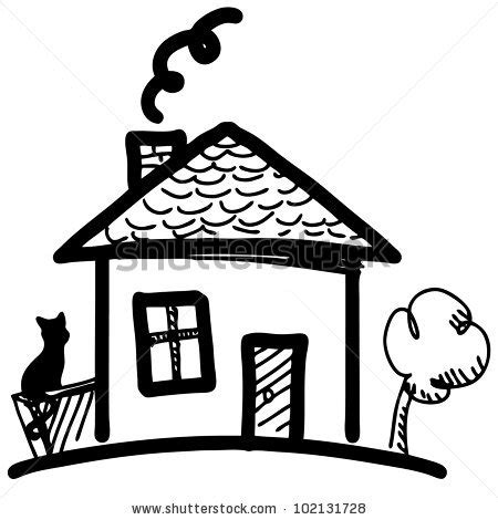 drawing cartoon houses mansion drawing clipart panda free clipart images