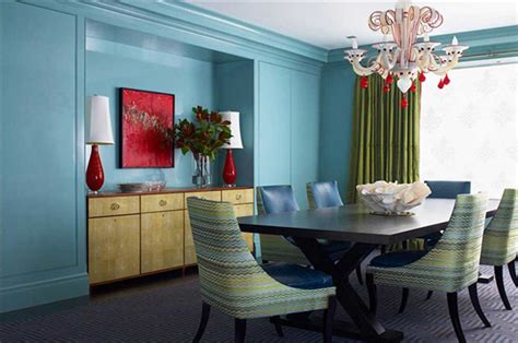 Dining Room Design Blue Walls Colour Learning The Basics Interior Design